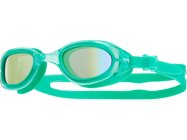 TYR Special Ops 2.0 Lunettes de protection Enfant, gold/green